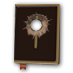 Old bible bullet hole.png