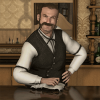Barkeeper Henry Walker